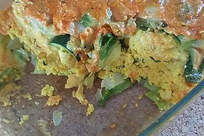 Kohlrouladen mit Couscous - Cashew - Füllung mit Curry 4