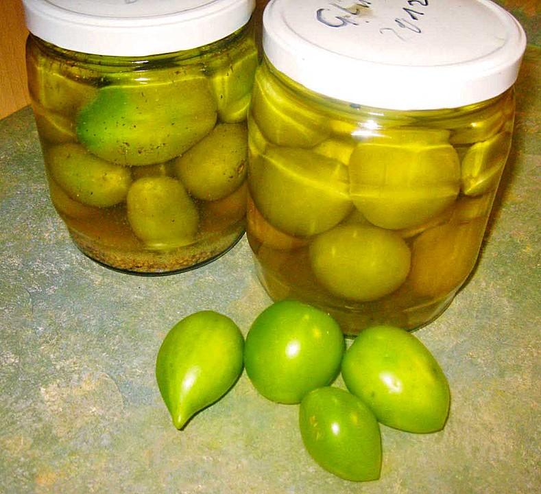 Etwas Neues genug Eingelegte grüne Tomaten von julisan   Chefkoch #LF_84