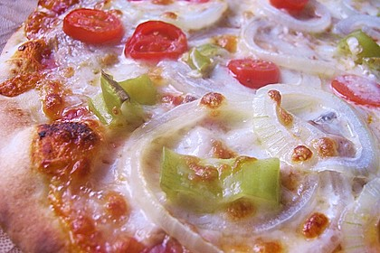 Pizzateig mit Dinkelmehl 2