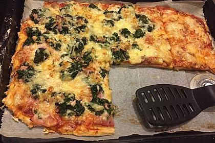 Pizzateig mit Dinkelmehl 7