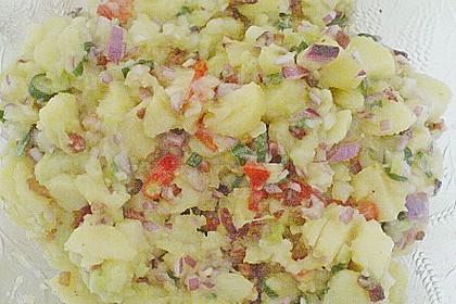 Schnelle Kartoffeln mit Gurkensalat 1