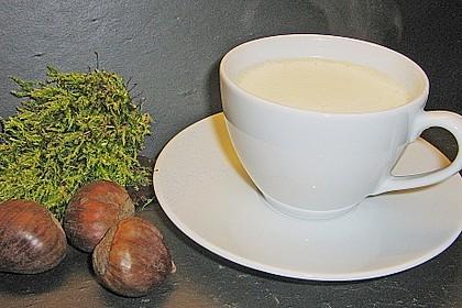 Cappuccino von der Maroni mit Trüffelschaum 4