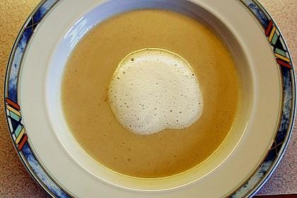 Cappuccino von der Maroni mit Trüffelschaum 7