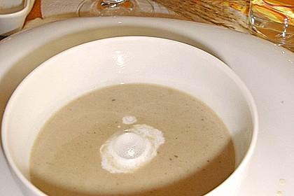 Cappuccino von der Maroni mit Trüffelschaum 9