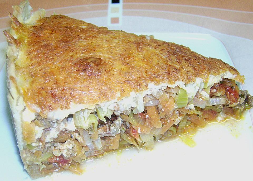 Gemuse Hackfleisch Kuchen Von Kerstin3398 Chefkoch De