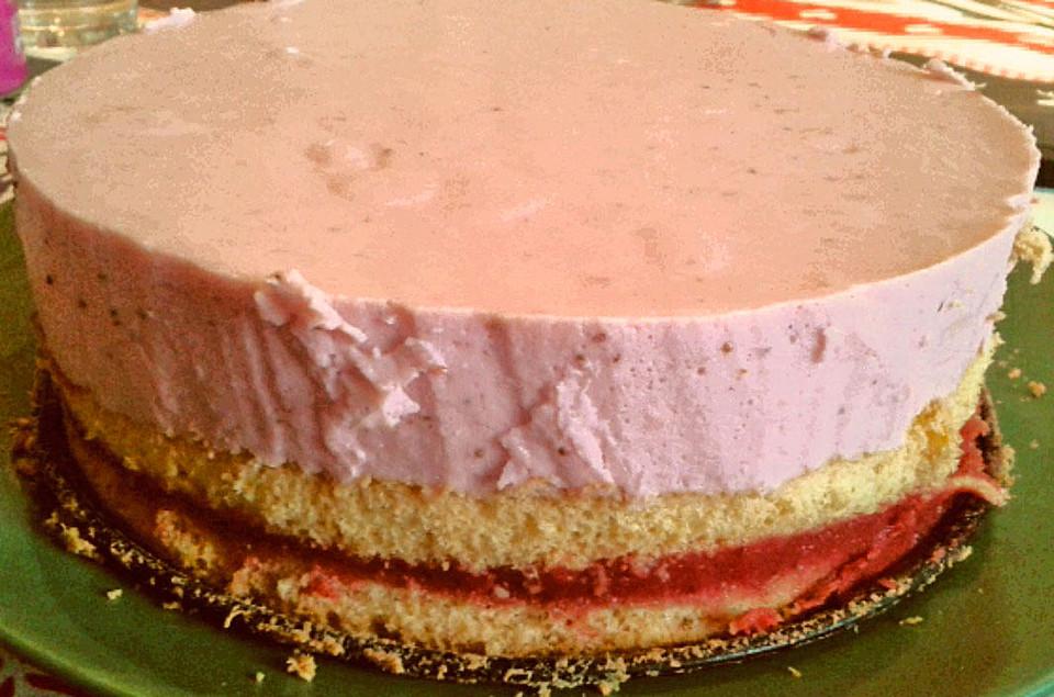Erdbeer Quark Torte Von Pcn Chefkoch De