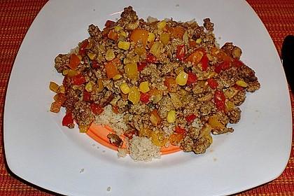 Couscous mit Hackfleisch 2