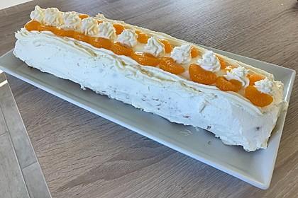 Mandarinenquark - Biskuitrolle 7