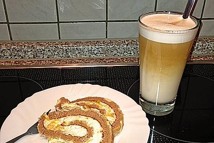 Mandarinenquark - Biskuitrolle 19