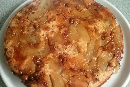 Umgedrehter Apfelkuchen 3