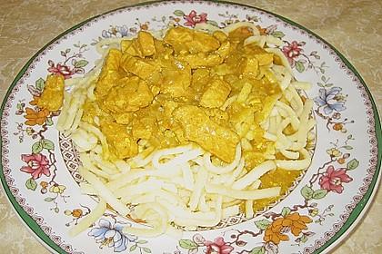 Curry Geschnetzeltes (Bild)