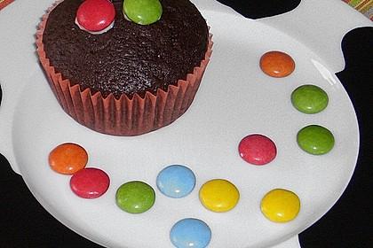 Schokoladen - Muffins 3