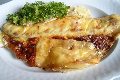 Spargelfladen mit Schinken und Käse 1
