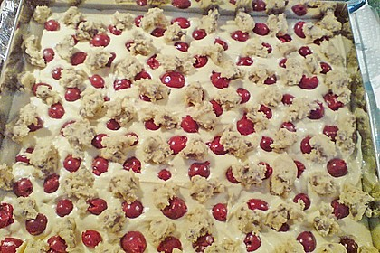 Jockels Cookie - Kuchen mit Kirschen 3