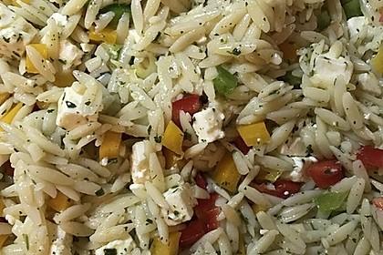 Kritharaki - Salat 11