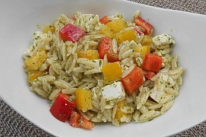 Kritharaki - Salat 9