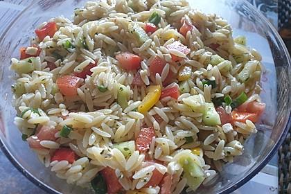 Kritharaki - Salat 2