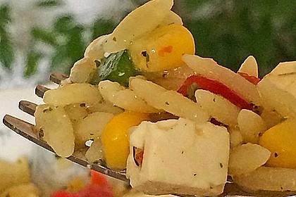 Kritharaki - Salat 7
