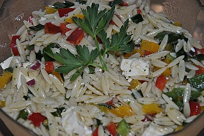 Kritharaki - Salat 12