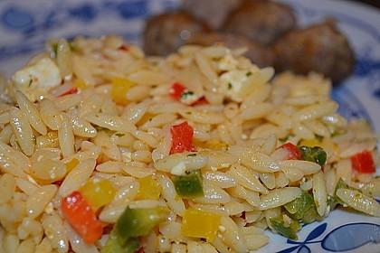 Kritharaki - Salat 8