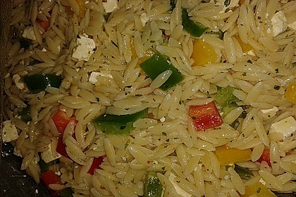Kritharaki - Salat 16