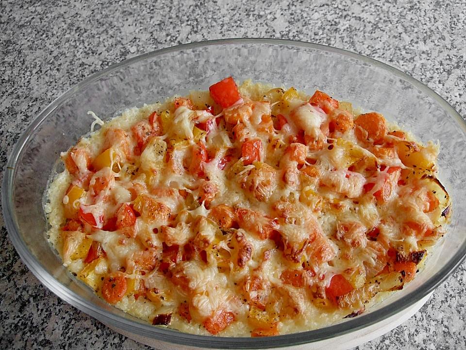 Quinoa Gemüse Auflauf Von Anniroc Chefkoch