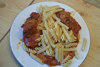 Hackfleischröllchen mit Paprika und Tomaten 1