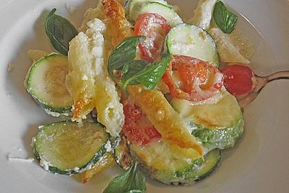 Zucchini - Nudeln - Auflauf