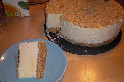 Osteiscake  ( Käse - Eis - Kuchen )