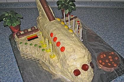 Geburtstagskuchen als 'Spaceshuttle' oder 'Raketenkuchen' 8