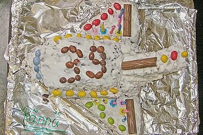 Geburtstagskuchen als 'Spaceshuttle' oder 'Raketenkuchen' 18