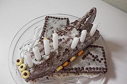 Geburtstagskuchen als 'Spaceshuttle' oder 'Raketenkuchen' 17