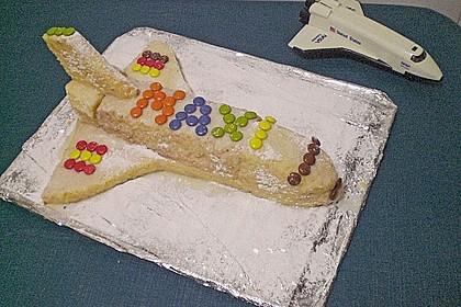 Geburtstagskuchen als 'Spaceshuttle' oder 'Raketenkuchen' 1