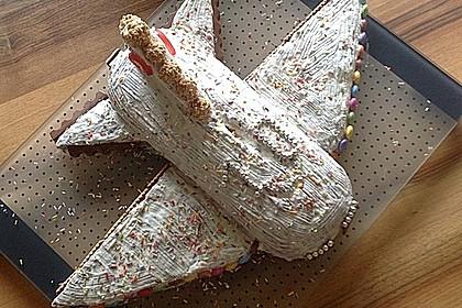 Geburtstagskuchen als 'Spaceshuttle' oder 'Raketenkuchen' 13