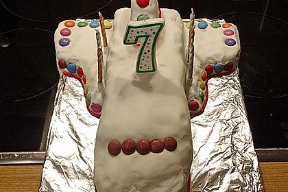 Geburtstagskuchen als 'Spaceshuttle' oder 'Raketenkuchen' 6