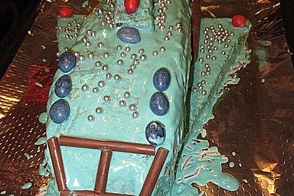 Geburtstagskuchen als 'Spaceshuttle' oder 'Raketenkuchen' 14