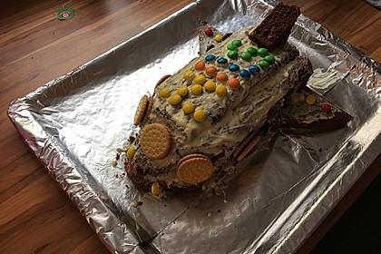 Geburtstagskuchen als 'Spaceshuttle' oder 'Raketenkuchen' 5