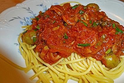 Tintenfisch in scharfer Tomatensauce 7