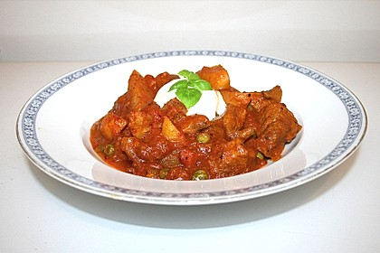 Indisches Vindaloo - Curry 1