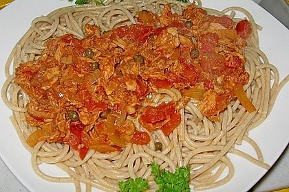 Spaghettisoße 'Mezzanotte'