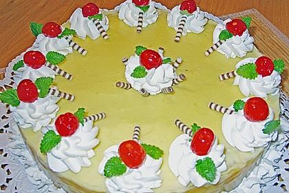 Apfeltorte mit Pudding - Eierlikör - Guss 19