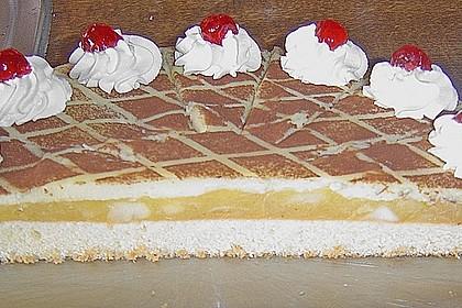 Apfeltorte mit Pudding - Eierlikör - Guss 48