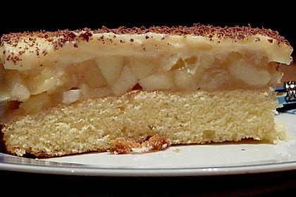 Apfeltorte mit Pudding - Eierlikör - Guss 51