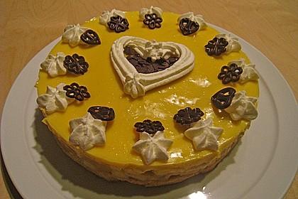 Apfeltorte mit Pudding - Eierlikör - Guss 32