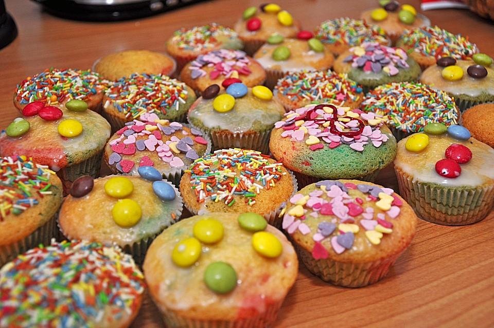 Bunte Muffins Von Daslau Chefkoch De