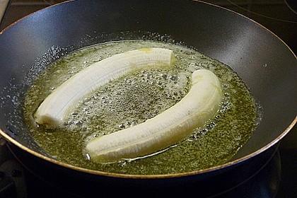 Bananen mit Amaretto - Mandeln 11