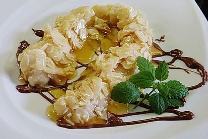Bananen mit Amaretto - Mandeln