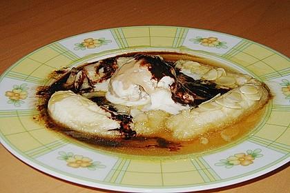 Bananen mit Amaretto - Mandeln 13