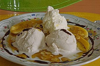 Bananen mit Amaretto - Mandeln 7