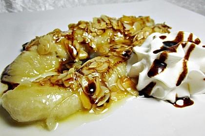 Bananen mit Amaretto - Mandeln 1